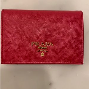 Prada credit card wallet